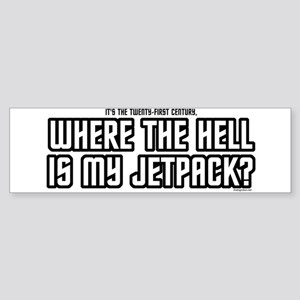 Where's my Jetpack Bumper Sticker