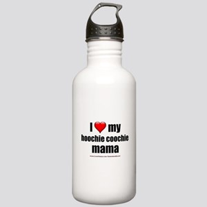 """""""Love My Hoochie Coochie Mama"""" Stainless Water Bot"""