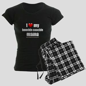 """""""Love My Hoochie Coochie Mama"""" Women's Dark Pajama"""