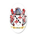 Ekins Oval Car Magnet