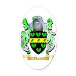 Ekgren Oval Car Magnet