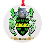 Ekegren Round Ornament