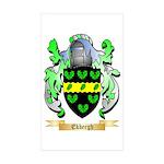 Ekbergh Sticker (Rectangle 10 pk)