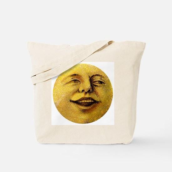 Happy Moon Tote Bag