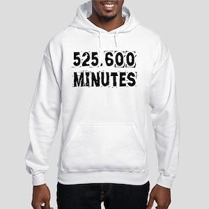 525,600 Minutes (light) Hoodie