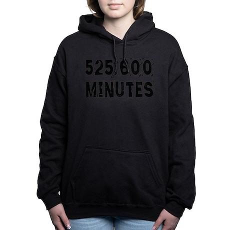 525,600 Minutes (light) Hooded Sweatshirt
