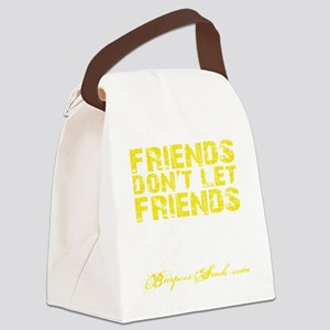 DNF - Yellow Canvas Lunch Bag