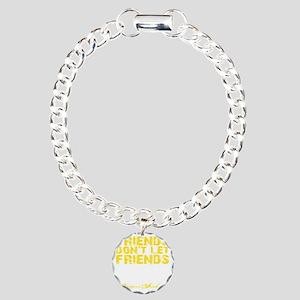 DNF - Yellow Charm Bracelet, One Charm