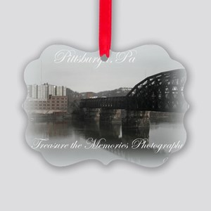 Pittsburgh,Pa Picture Ornament