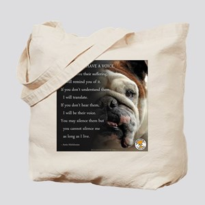 VOICE OF ANIMALS Tote Bag
