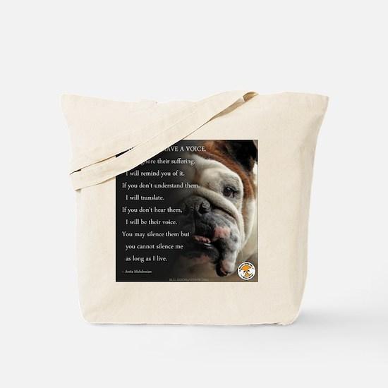 VOICE OF ANIMALS Tote Bag