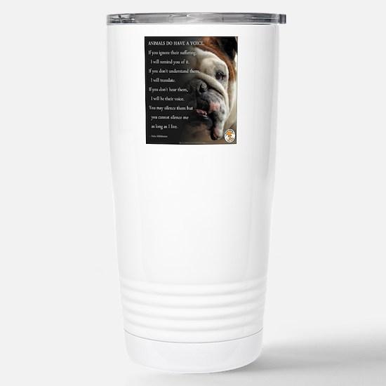 VOICE OF ANIMALS Travel Mug