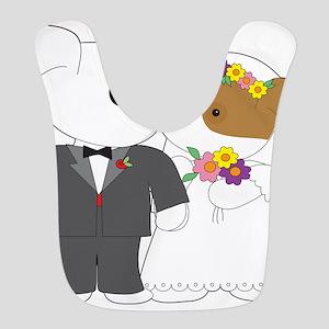 Cute Puppy Marriage Bib