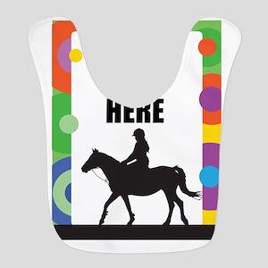 Horse Border Bib