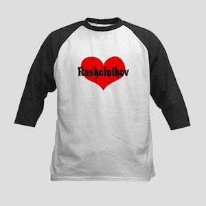 Raskolnikov Love 2 Kids Baseball Jersey