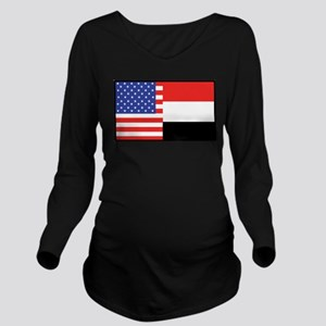 america_yemen Long Sleeve Maternity T-Shirt