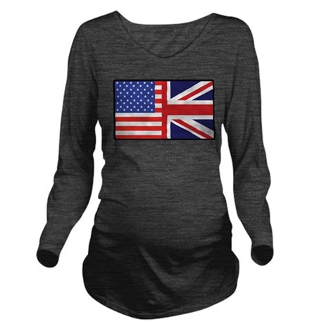 america_britain Long Sleeve Maternity T-Shirt
