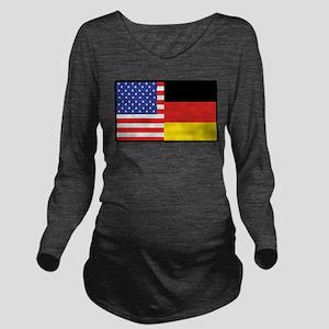 america_germany Long Sleeve Maternity T-Shirt