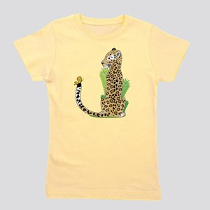 Animal Alphabet Jaguar Girl's Tee