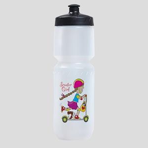 Scooter Kid Sports Bottle