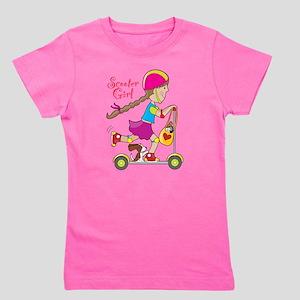 Scooter Kid Girl's Tee