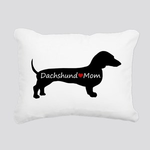 Dachshund Mom Rectangular Canvas Pillow