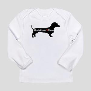 Dachshund Mom Long Sleeve Infant T-Shirt