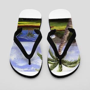 Beautiful Kauai Flip Flops