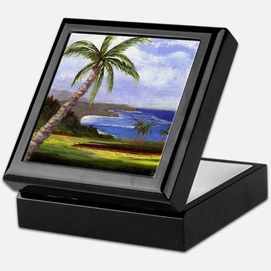 Beautiful Kauai Keepsake Box