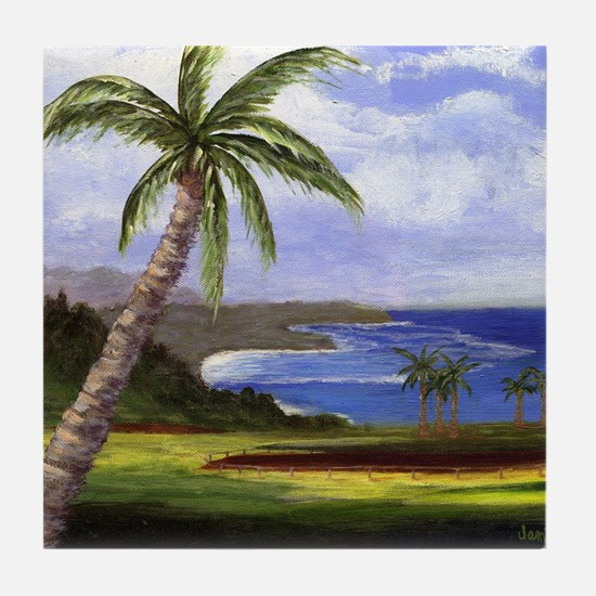 Beautiful Kauai Tile Coaster