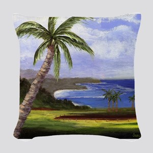 Beautiful Kauai Woven Throw Pillow