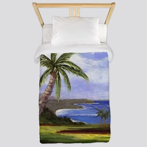 Beautiful Kauai Twin Duvet