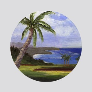 Beautiful Kauai Ornament (Round)