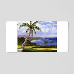 Beautiful Kauai Aluminum License Plate