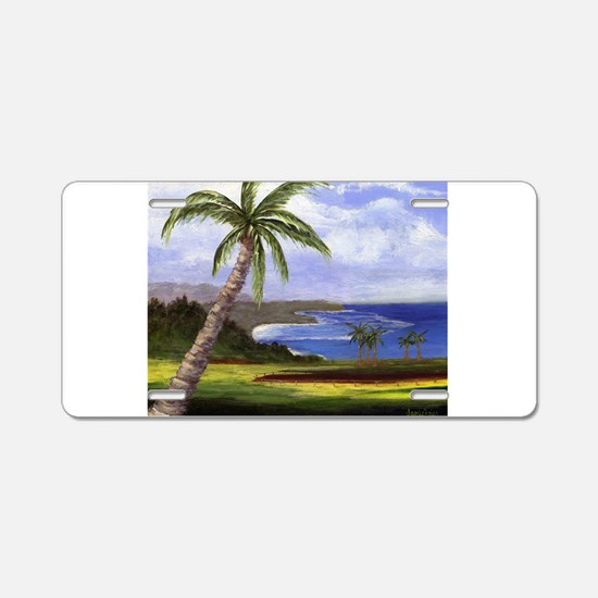 Beautiful Kauai Aluminum License Plate
