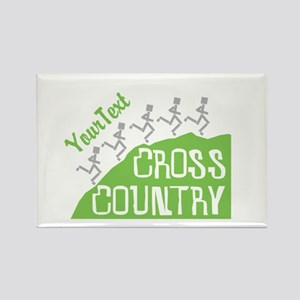 Customize Cross Country Runners Magnets