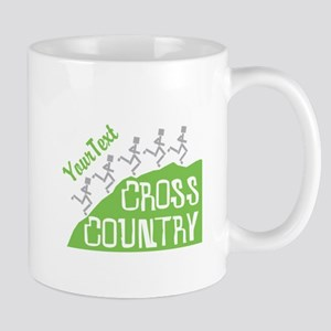 Customize Cross Country Runners Mugs - Right