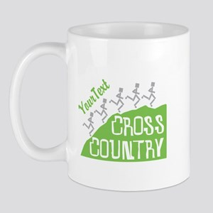 Customize Cross Country Runners Mugs - Left