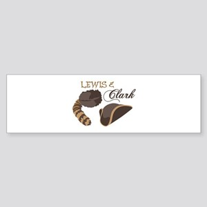 Lewis and Clark Bumper Sticker