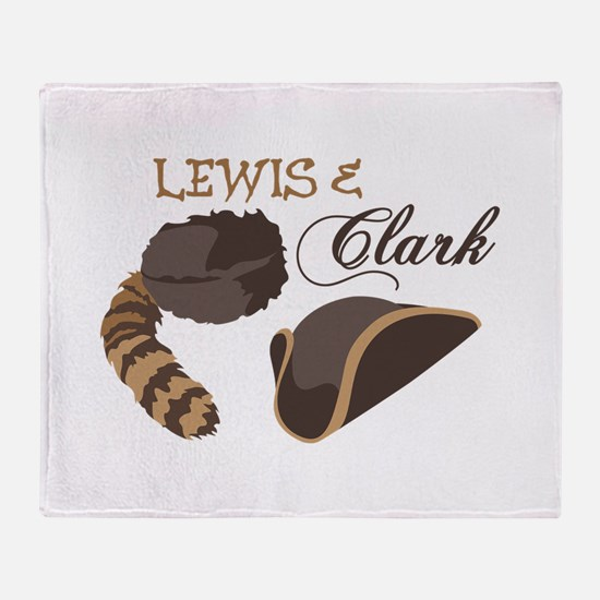 Lewis and Clark Throw Blanket