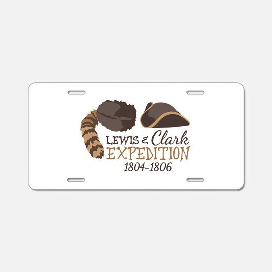 Lewis and Clark Expedition Aluminum License Plate