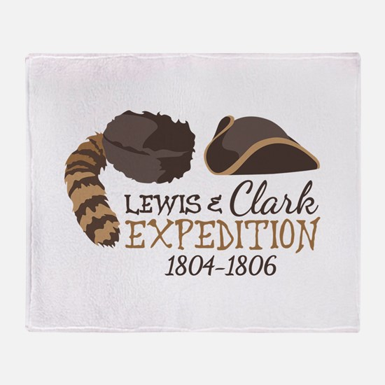 Lewis and Clark Expedition Throw Blanket