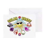 SolarBrate Greeting Cards (Pk of 10)