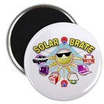 "SolarBrate 2.25"" Magnet (10 pack)"