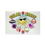 SolarBrate Rectangle Magnet (100 pack)