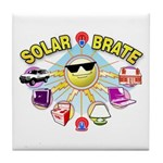 SolarBrate Tile Coaster