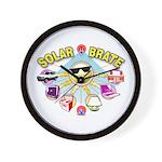 SolarBrate Wall Clock