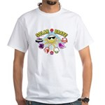 SolarBrate White T-Shirt