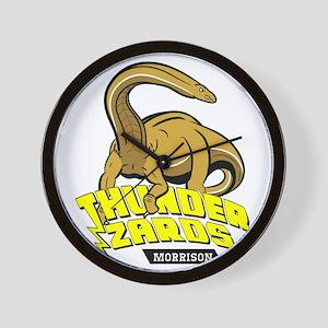 Thunder Lizards Wall Clock