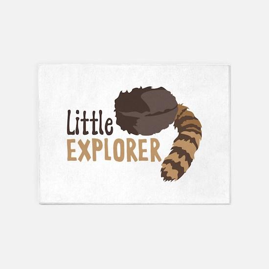 Little Explorer 5'x7'Area Rug